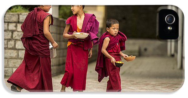 Young Monks IPhone 5 / 5s Case by Abhishek Singh