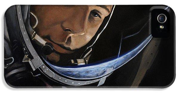 Yuri Alekseyevich Gagarin IPhone 5 / 5s Case by Simon Kregar