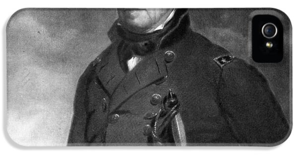 President Of The United States iPhone 5 Cases - Zachary Taylor iPhone 5 Case by Eliphalet Frazer Andrews