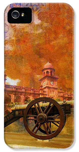 Pakistan iPhone 5 Cases - Zamzama Tope or Kims Gun iPhone 5 Case by Catf