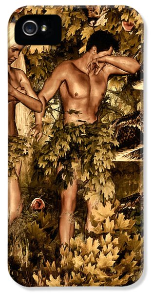 Birth Of Sin IPhone 5 / 5s Case by Lourry Legarde