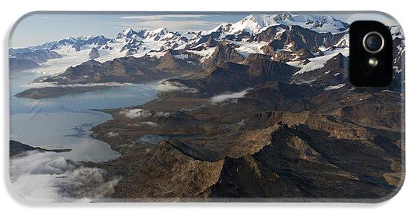 Mountain iPhone 5 Cases - Allardyce Range, Cumberland East Bay iPhone 5 Case by Ingo Arndt