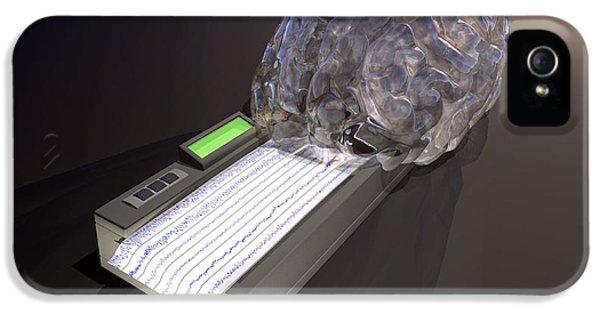Diagnostic iPhone 5 Cases - Brain Function, Conceptual Artwork iPhone 5 Case by Laguna Design