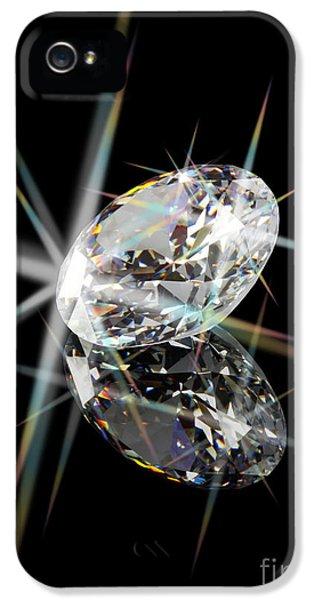 Spectrum iPhone 5 Cases - Diamond iPhone 5 Case by Atiketta Sangasaeng