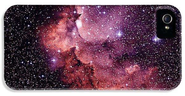 Astrophysics iPhone 5 Cases - Emission Nebula iPhone 5 Case by Celestial Image Co.