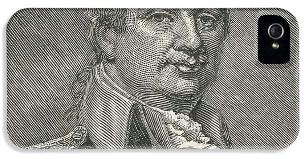 National Portrait Gallery iPhone 5 Cases - Henry Knox iPhone 5 Case by Photo Researchers