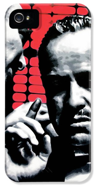 American Crime Film iPhone 5 Cases - I Want You To Kill him iPhone 5 Case by Luis Ludzska