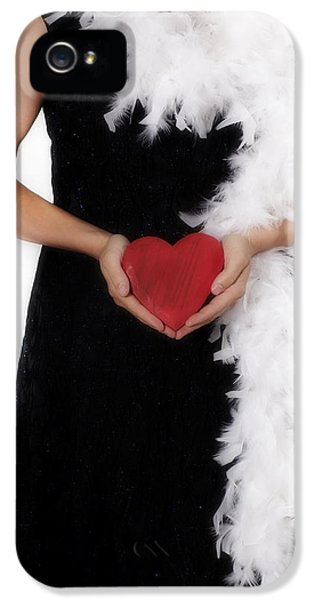 20 iPhone 5 Cases - Lady With Heart iPhone 5 Case by Joana Kruse