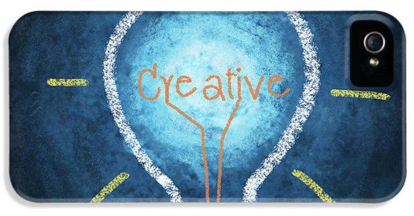 Creativity iPhone 5 Cases - Light Bulb Design iPhone 5 Case by Setsiri Silapasuwanchai