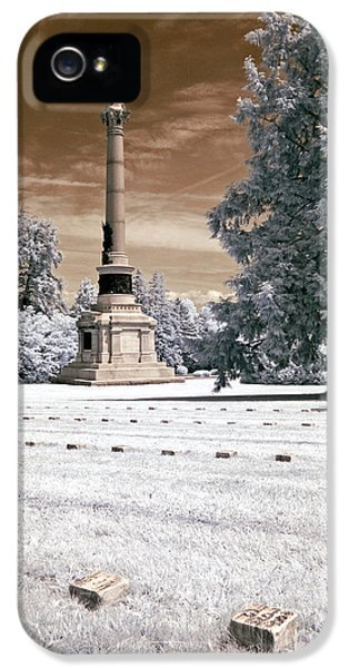 Gettysburg Address iPhone 5 Cases - Lincolns Gettysburg Address Site - toned iPhone 5 Case by Paul W Faust -  Impressions of Light