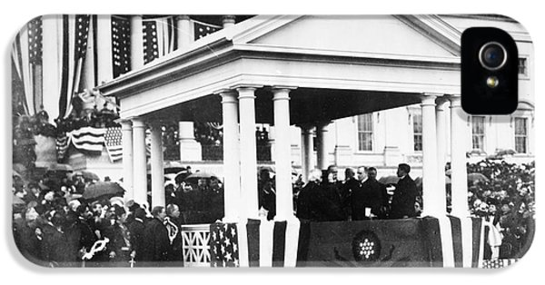 The White House Photographs iPhone 5 Cases - McKINLEY INAUGURATION, 1901 iPhone 5 Case by Granger