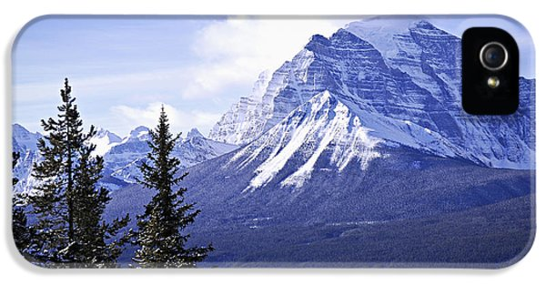 Mountain iPhone 5 Cases - Mountain landscape iPhone 5 Case by Elena Elisseeva