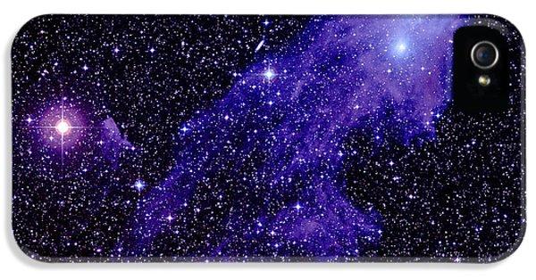 Astrophysics iPhone 5 Cases - Nebula Ngc 5367 iPhone 5 Case by Celestial Image Co.
