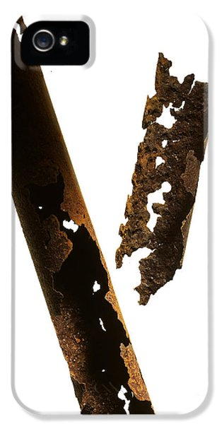 Corroded iPhone 5 Cases - Pipe iPhone 5 Case by Tony Cordoza