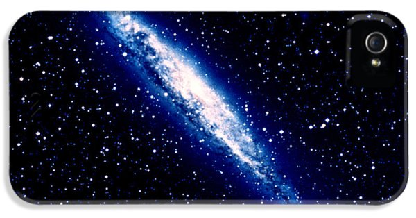 Astrophysics iPhone 5 Cases - Seyfert Galaxy iPhone 5 Case by Celestial Image Co.