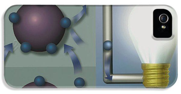 Discharging iPhone 5 Cases - Solar Cell iPhone 5 Case by Mikkel Juul Jensen