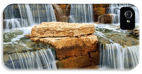 Environment Design iPhone 5 Cases - Waterfall iPhone 5 Case by Elena Elisseeva