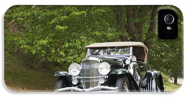 1931 Roadster iPhone 5 Cases - 1931 Duesenberg J Packard Roadster  iPhone 5 Case by Jill Reger