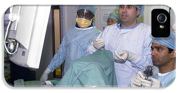 Endoscopy iPhone 5 Cases - Endoscopy iPhone 5 Case by Mr Gordon Muirtony Mcconnell