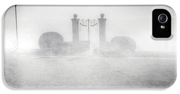 Gate iPhone 5 Cases - Gateway To The Lake iPhone 5 Case by Joana Kruse