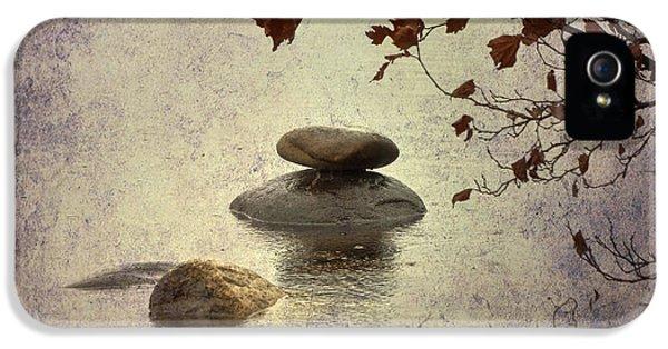 Zen iPhone 5 Cases - Zen Stones iPhone 5 Case by Joana Kruse