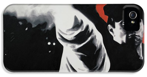 American Crime Film iPhone 5 Cases - - The Godfather - iPhone 5 Case by Luis Ludzska