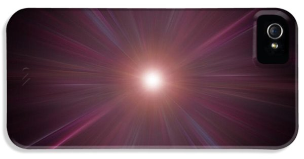 Concepts And Topics iPhone 5 Cases - Big Bang, Conceptual Artwork iPhone 5 Case by Laguna Design