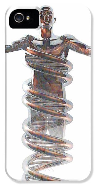 Complexity iPhone 5 Cases - Human Genome, Conceptual Artwork iPhone 5 Case by Laguna Design