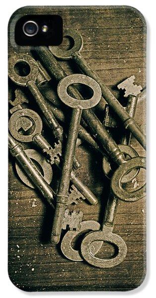 Key iPhone 5 Cases - Key iPhone 5 Case by Joana Kruse
