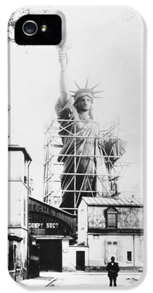Statue Photographs iPhone 5 Cases - Statue Of Liberty, Paris iPhone 5 Case by Granger