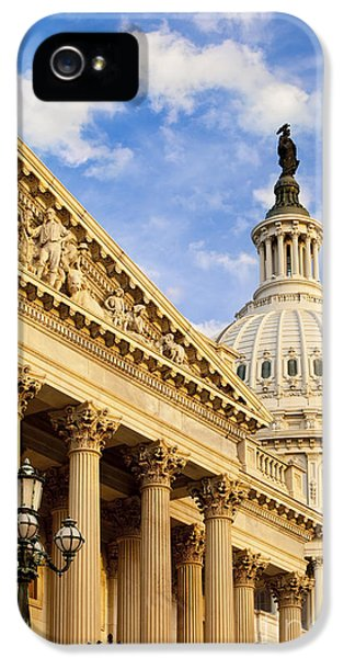 House Of Representatives iPhone 5 Cases - US Capitol iPhone 5 Case by Brian Jannsen