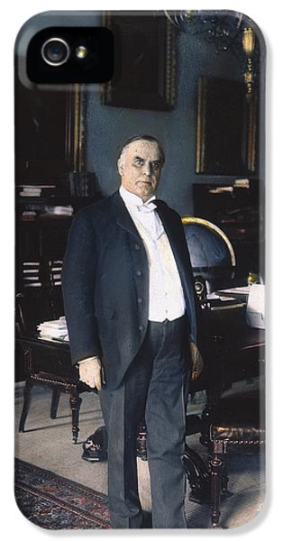 The White House Photographs iPhone 5 Cases - WILLIAM McKINLEY (1843-1901): iPhone 5 Case by Granger