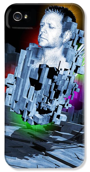 Cyborg iPhone 5 Cases - Artificial Intelligence iPhone 5 Case by Victor Habbick Visions
