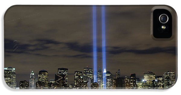 Anniversary iPhone 5 Cases - The Tribute In Light Memorial iPhone 5 Case by Stocktrek Images