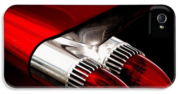 Chrome iPhone 5 Cases - 59 Caddy Tailfin iPhone 5 Case by Douglas Pittman