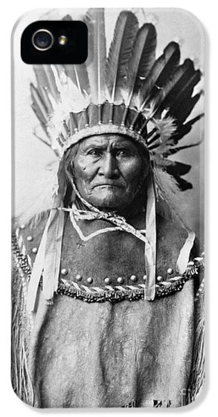 American iPhone 5 Cases - Geronimo (1829-1909) iPhone 5 Case by Granger