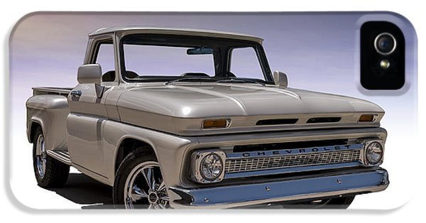Restoration iPhone 5 Cases - 66 Chevy Pickup iPhone 5 Case by Douglas Pittman