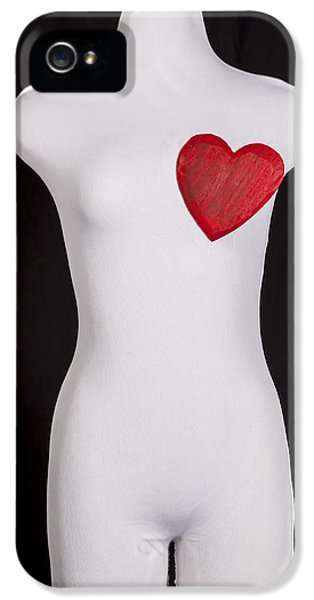 Conceptual iPhone 5 Cases - Heart iPhone 5 Case by Joana Kruse