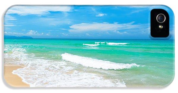 Coast iPhone 5 Cases - Beach iPhone 5 Case by MotHaiBaPhoto Prints
