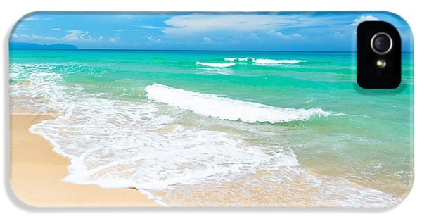 Scenic iPhone 5 Cases - Beach iPhone 5 Case by MotHaiBaPhoto Prints