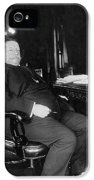 The White House Photographs iPhone 5 Cases - William Howard Taft iPhone 5 Case by Granger