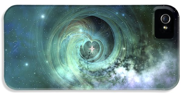 No iPhone 5 Cases - A Gorgeous Nebula In Outer Space iPhone 5 Case by Corey Ford