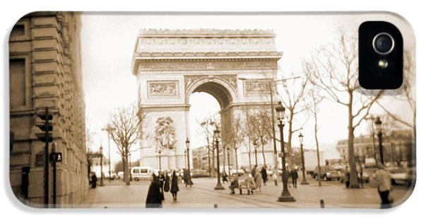 Arc iPhone 5 Cases - A Walk Through Paris 3 iPhone 5 Case by Mike McGlothlen