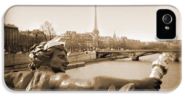 Arc iPhone 5 Cases - A Walk Through Paris 7 iPhone 5 Case by Mike McGlothlen