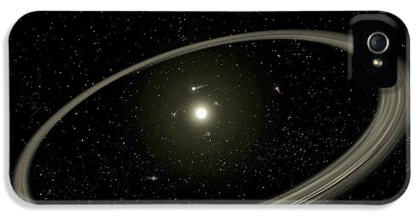 Circling iPhone 5 Cases - A Young Star Circled By Full-sized iPhone 5 Case by Stocktrek Images