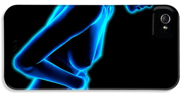 Inflammatory Disease iPhone 5 Cases - Abdominal Pain iPhone 5 Case by Roger Harris