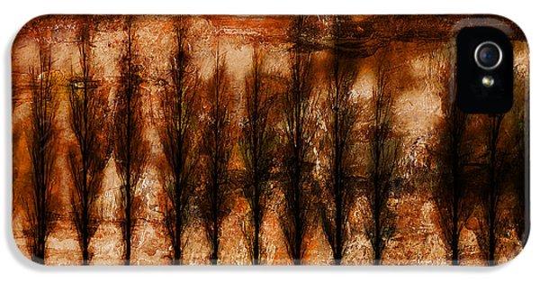 Epic Amazing Colors Landscape Digital Modern Still Life Trees Warm Natural Earth Organic Paint Photo Chic Decor Interior Design Brett Pfister Art Digital Art Digital Art Digital Art iPhone 5 Cases - Absolution iPhone 5 Case by Brett Pfister