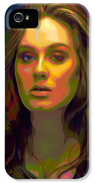Adele IPhone 5 / 5s Case by  Fli Art