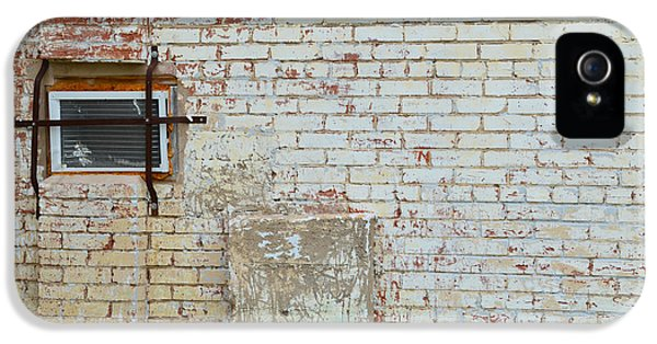 Brick iPhone 5 Cases - Aged Brick Wall with Character iPhone 5 Case by Nikki Marie Smith