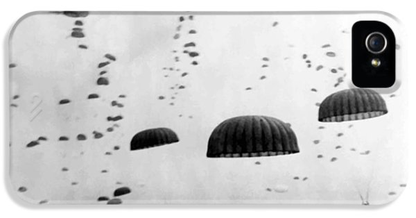 Photo iPhone 5 Cases - Airborne Mission During WW2  iPhone 5 Case by War Is Hell Store